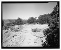 HOGAN RUINS, LOOKING NORTHWEST - Overlook Pueblito, Superior Mesa, Dulce, Rio Arriba County, NM HABS NM-184-8.tif
