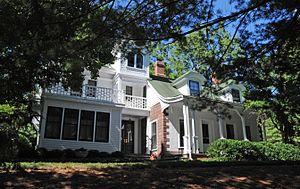 Hopper House (Saddle River, New Jersey) - Image: HOPPER HOUSE, SADDLE RIVER, BERGEN COUNTY, NJ
