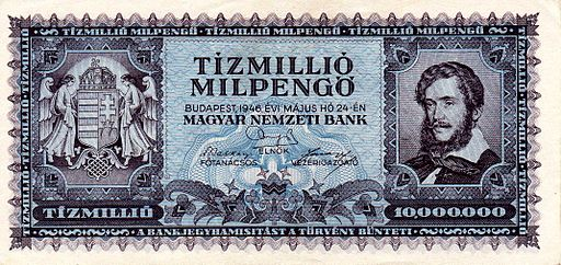 HUP 10Mmil 1946 obverse