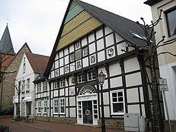 Fachwerkhaus in der Dorfstraße von Hagen am Teutoburger Wald