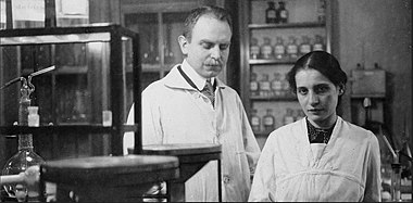 Lize Meitner and Otto Hahn