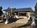 Haiden of Nishikimachi Inari Shrine in Miyako, Miyako, Fukuoka.jpg