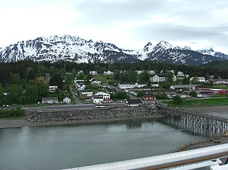 National Register of Historic Places listings in Haines Borough, Alaska - Image: Haines Alaska June 2012 a