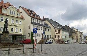 Hainichen, Saxony - Hainichen Market place