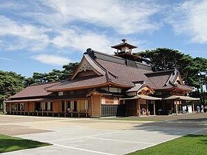 Japan's Top 100 Castles - Image: Hakodate Bugyosho sideview