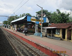 Halisahar railway station