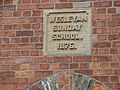 Hambleton Sunday School Commemorative Stone - geograph.org.uk - 250939.jpg