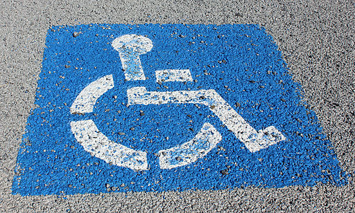 Handicap Parking Marker