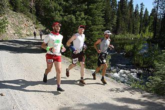 Western States Endurance Run - Runners, WS 2010.