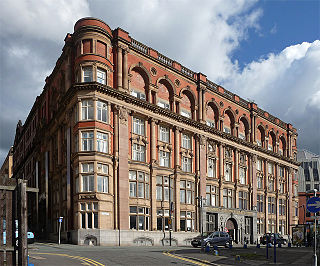 Hanover Building grade II listed architectural structure in Manchester, United kingdom