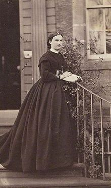 Harriet Mordaunt in the mid-1860s f53a0fc31