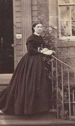 Harriet Mordaunt - Harriet Mordaunt in the mid-1860s