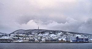 Deel van de stad Harstad