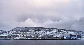Harstad - Harstad during the winter of 2005–2006