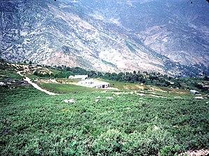Cannabis in Morocco - Cannabis fields in the Rif, 1983