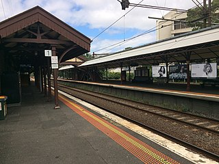 Hawthorn railway station, Melbourne