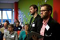 Hay Kranen, Wikipedian in Residence bij de Koninklijke Bilbiotheek en het Nationaal Archief bij de Wikimedia Nederland Conferentie 2013 (10643439723).jpg