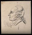 Head of a famous author. Drawing, c. 1792. Wellcome V0009201ER.jpg