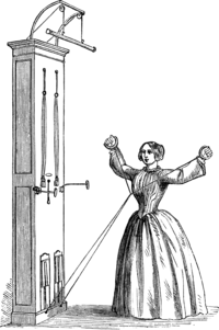FIG. 4.—SAWING EXERCISE.