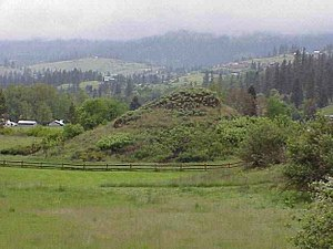 Indigenous peoples of the Northwest Plateau - Heart of the Monster, Nez Perce National Historical Park, Lapwai, Idaho