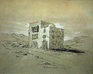 Hedley Churchward - House of the Jinns