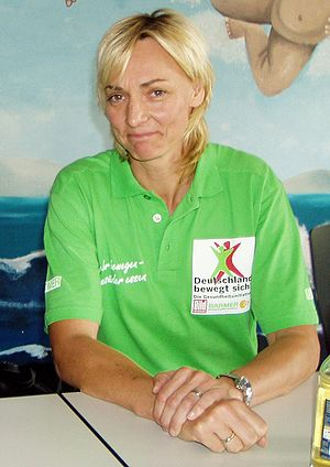 Athletics at the 1994 Goodwill Games - Heike Drechsler won the long jump gold for Germany.
