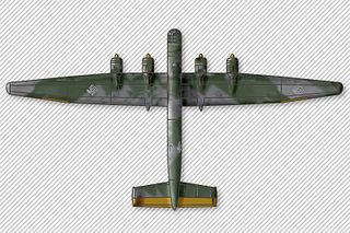 Heinkel He 274 Prototype bomber aircraft by Heinkel