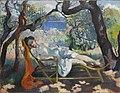 Henri Manguin, 1905, La Sieste (Le repos, Jeanne), oil on canvas, 88.9 x 116.84 cm, Villa Flora, Winterthur.jpg