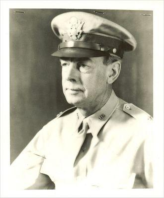 Henry Conger Pratt - Major General Henry Conger Pratt, 1940