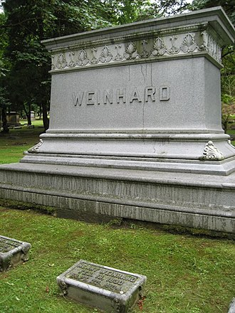River View Cemetery (Portland, Oregon) - Grave of Henry Weinhard