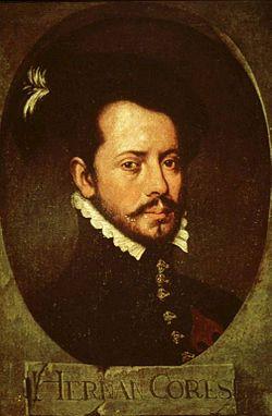 Hernán Cortés, Museo de América.jpg