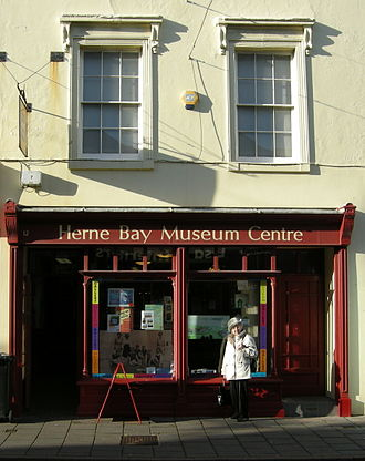 Herne Bay Museum and Gallery - Georgian premises in Conservation Area The management of the Museum was awarded by Canterbury City Council to the Herne Bay Museum Trust, who reopened it in July 2015 as The Seaside Museum Herne Bay.