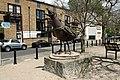 Herring Gull sculpture at the Narrow Street in London (2).JPG