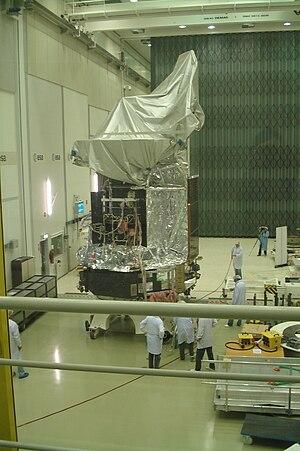 Herschel Space Observatory - Herschel in a clean room
