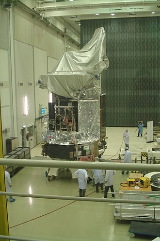 Herschel Space Observatory - Herschel in a clean room
