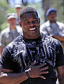 Herschel Walker visit with USAFA Class of 2016 Basic Cadet Training.jpg