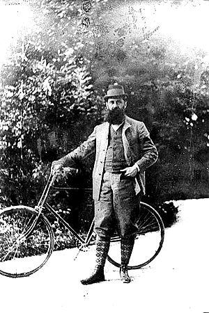 Altaussee - Theodor Herzl at Altaussee 1900
