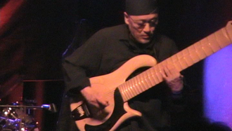 Hideki Ishima - Ishima with Flower Travellin' Band at the Knitting Factory in New York City in 2008.