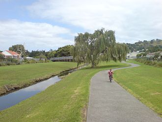 Wesley, New Zealand - Underwood Park / Walsmley Park in the West of Wesley.