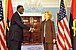 Hillary Clinton meets with Angolan Minister of External Affairs Ansuncao Afonso dos Anjos, May 2009-3.jpg