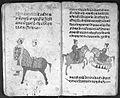 Hindi Manuscript 191, fols 54 verso 55 recto Wellcome L0024247.jpg