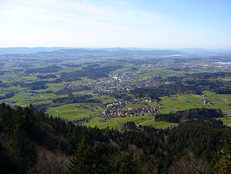 Bachtel - View from the summit