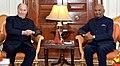 His Highness Prince Karim Aga Khan meeting the President, Shri Ram Nath Kovind.jpg