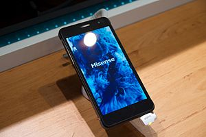 Hisense - A Hisense smartphone at Mobile World Congress 2015