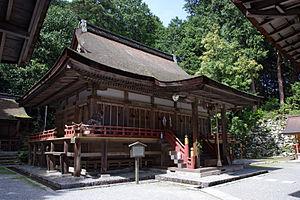 Hiyoshi-zukuri - Hiyoshi Taisha's Higashi Hon-gū