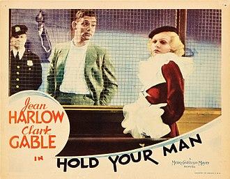 Hold Your Man - Lobby card