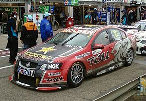 Garth Tander - The Holden VE Commodore of Garth Tander at the 2011 Clipsal 500 Adelaide