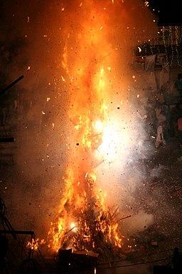 Holi Bonfire