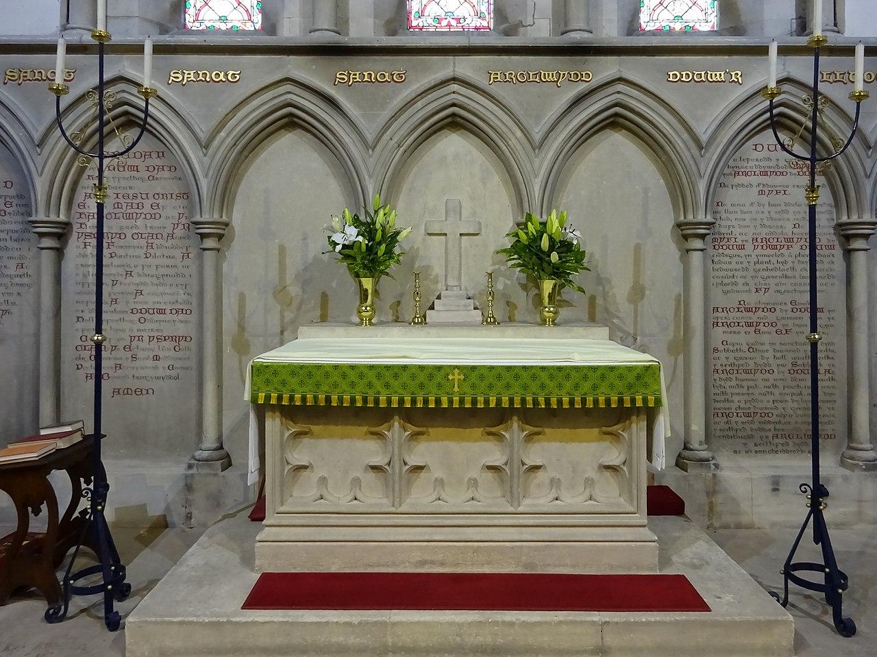 File Holl Seintiau Church Of All Saints Llangorwen Tirymynach