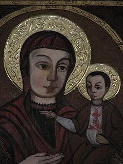 Holy icon of Theotokos of Máriapócs.jpg